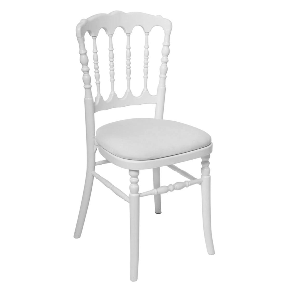 chaise napol on bois vente de mobilier de r ception. Black Bedroom Furniture Sets. Home Design Ideas