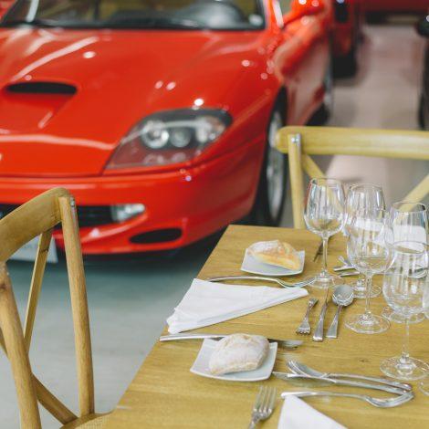 Prestation à la Concession Ferrari