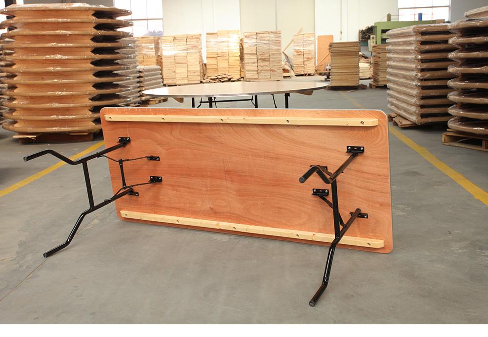 X Bois Mobilier 90 De 243 Pliante Table Cm Vente Rectangle FKJcT1l