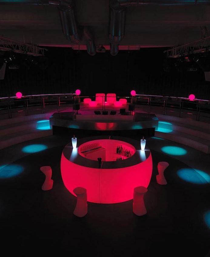 Bar lumineux vip vente de mobilier de r ception for Bar lumineux
