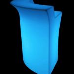 Bar lumineux angle