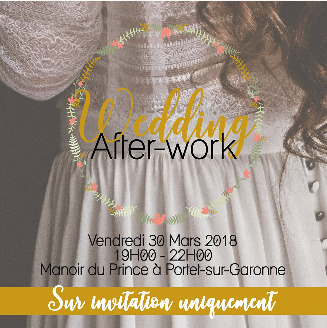 Wedding After-Work au Manoir du Prince – Vendredi 30 Mars